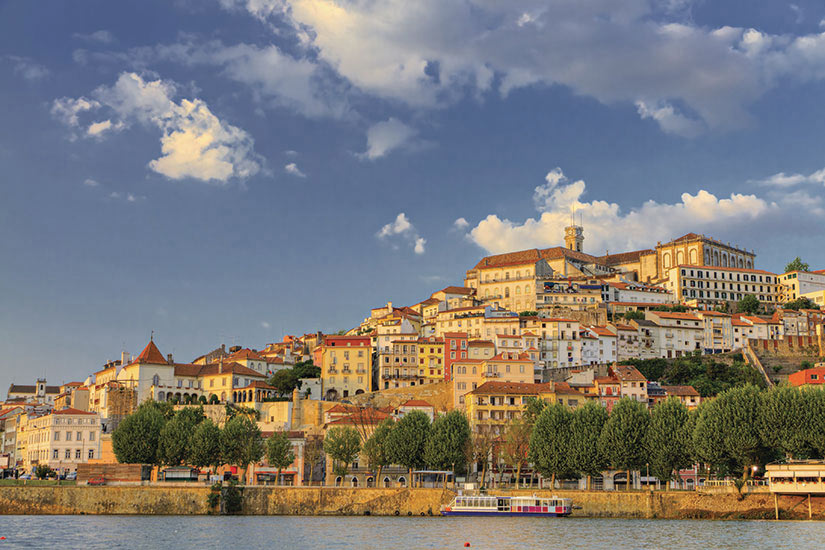 image Portugal Coimbra panoramique  fo