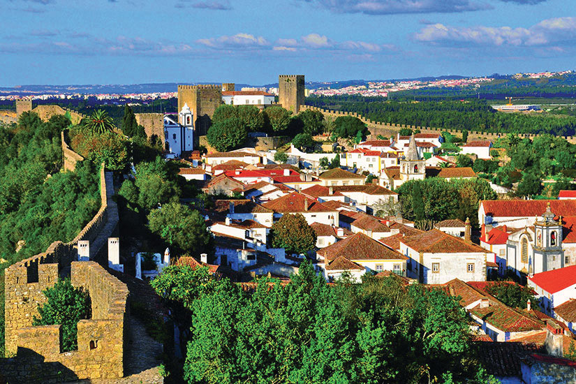image Portugal Obidos Panorama  it