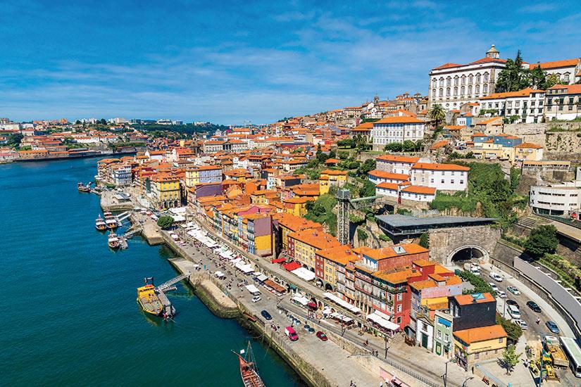 image Portugal Porto vue aerienne  fo
