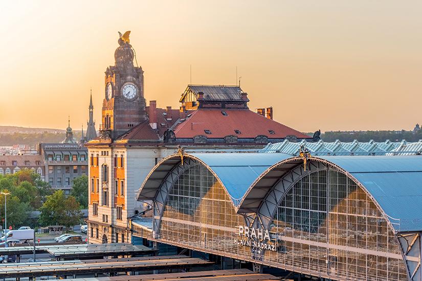 image Republique Tcheque Prague gare is_1136836220