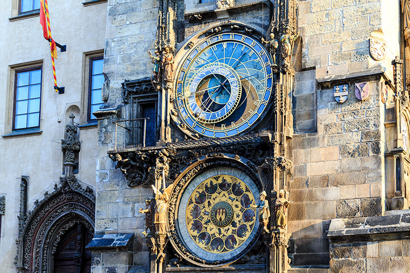 image Republique Tcheque Prague horloge astrologique  fo