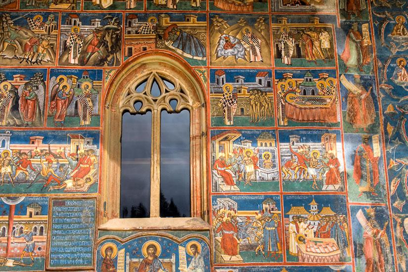 image Roumanie Voronet monastere  it