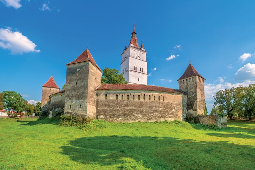image Roumanie transylvanie brasov eglise fortifiee medievale harman 92 fo_120596762