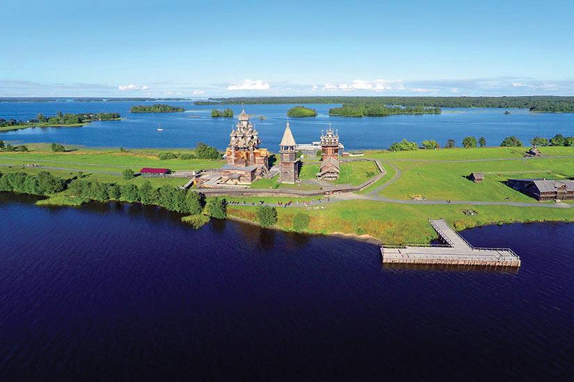 image Russie Kiji vue aerienne  fo