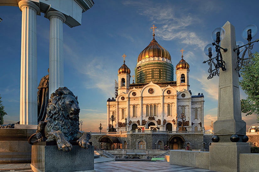 image Russie Moscou Cathedrale du Christ Sauveur  it