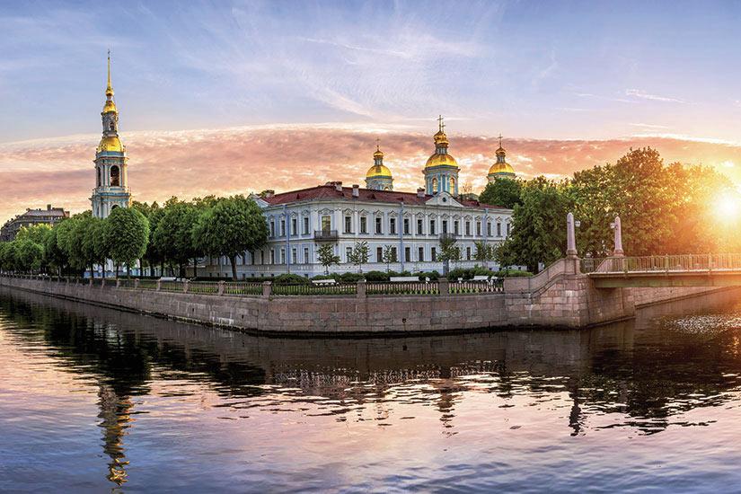 image Russie Nikolsko intersection des canaux  fo