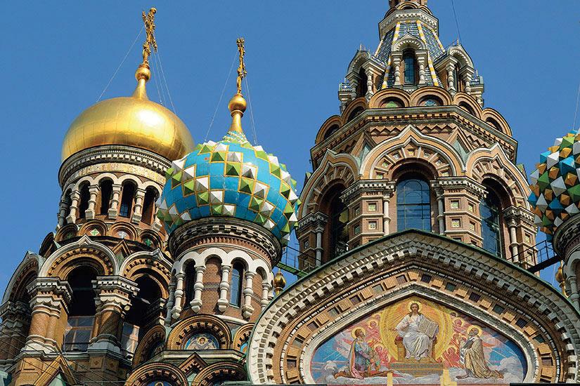 image Russie Saint Petersbourg eglise du saint sauveur sur le sang verse  fo