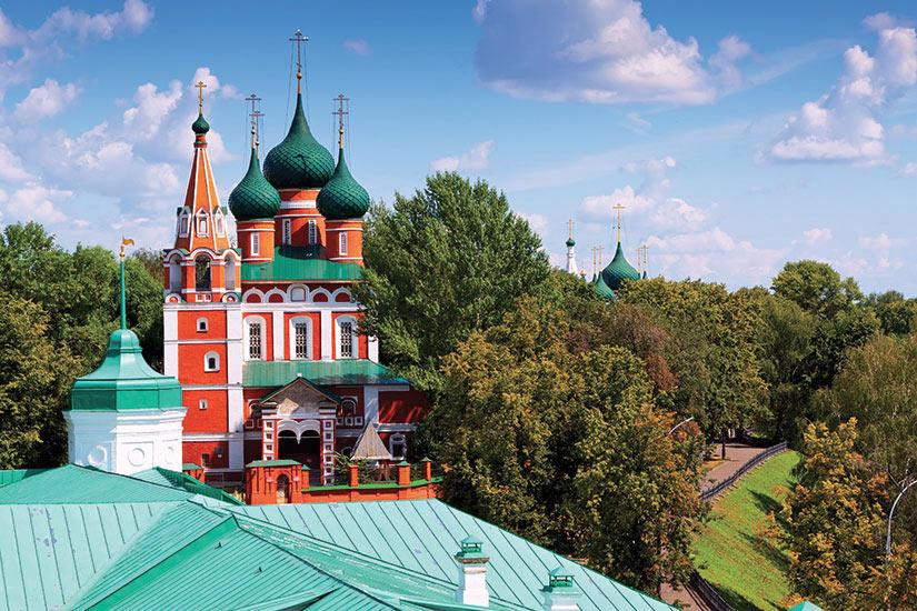 image Russie Yaroslavl Eglise Archange Michael  fo