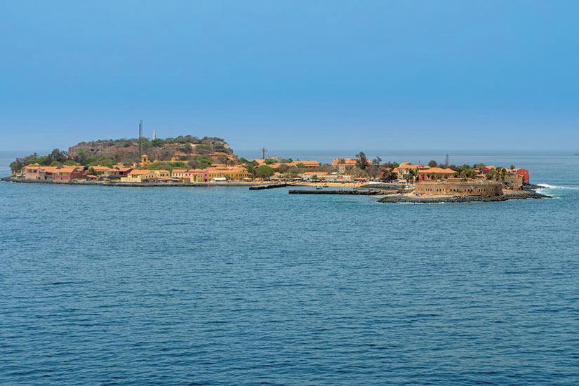 image Senegal Goree Panorama  it