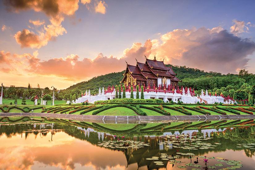 image Thailande royal flora Park de Chiang Mai  fo