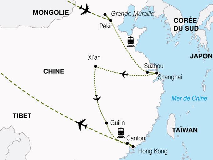 CARTE Chine Empire Milieu  shhiver 324376