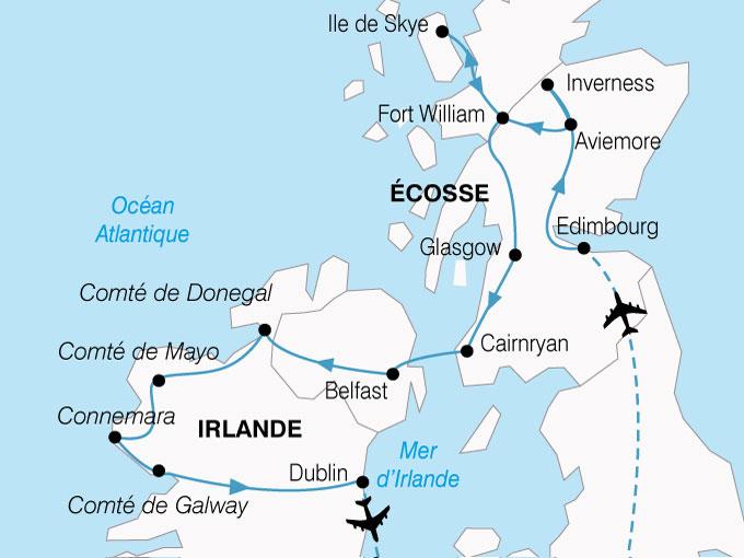 Circuit Grande Bretagne   Irlande : Magie Celte, entre Écosse et