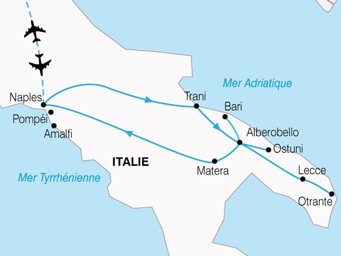 Circuit en Italie : Splendeurs du Sud de l'Italie 8 jours   BT Tours