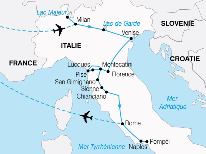 Carte Aeroport Italie | imvt