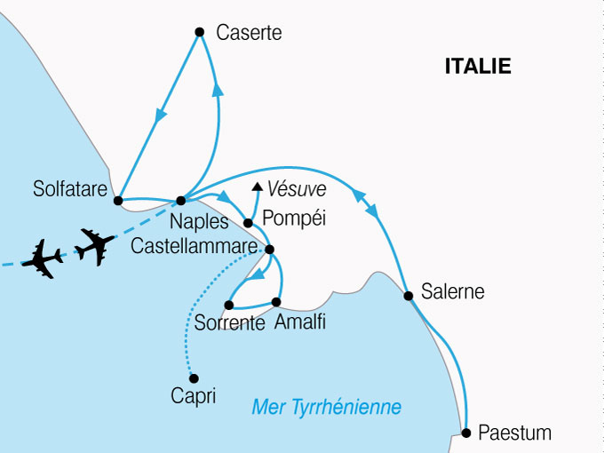 CARTE Italie Naples La Plus Belle Baie Du Monde  shhiver 321639