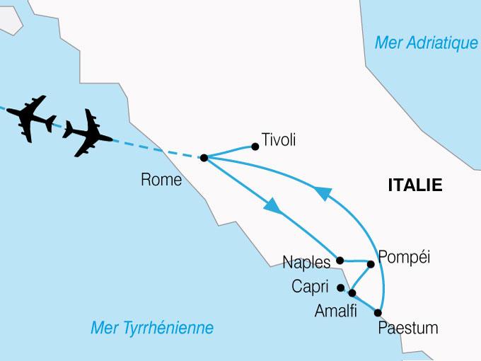 CARTE Italie Sud  shhiver 214484