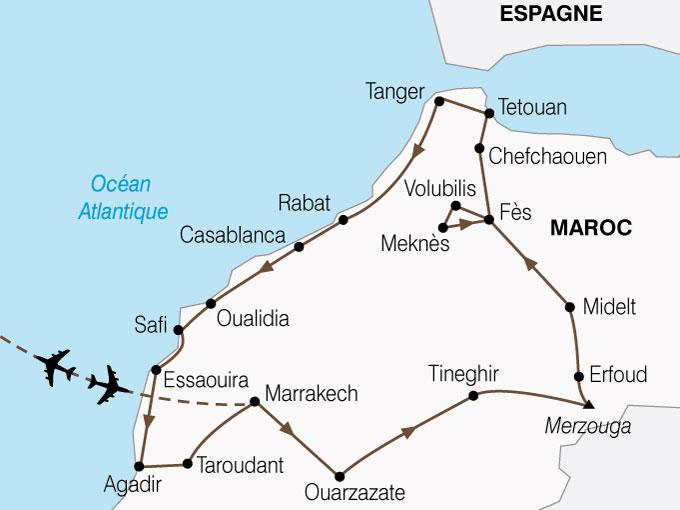 voyage maroc avec excursion