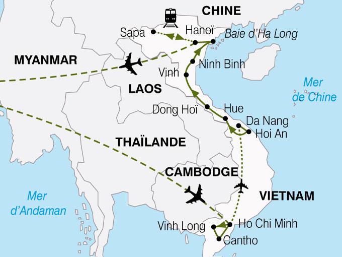 CARTE Vietnam Minorites Ethniques  shhiver 266999