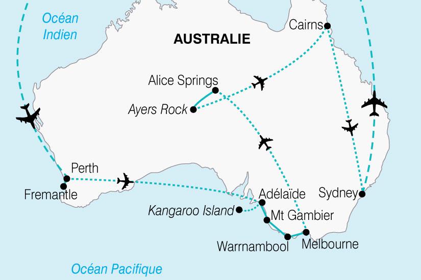 Carte Geologique Australie.Circuit En Australie Australie A La Decouverte D Un Continent 19