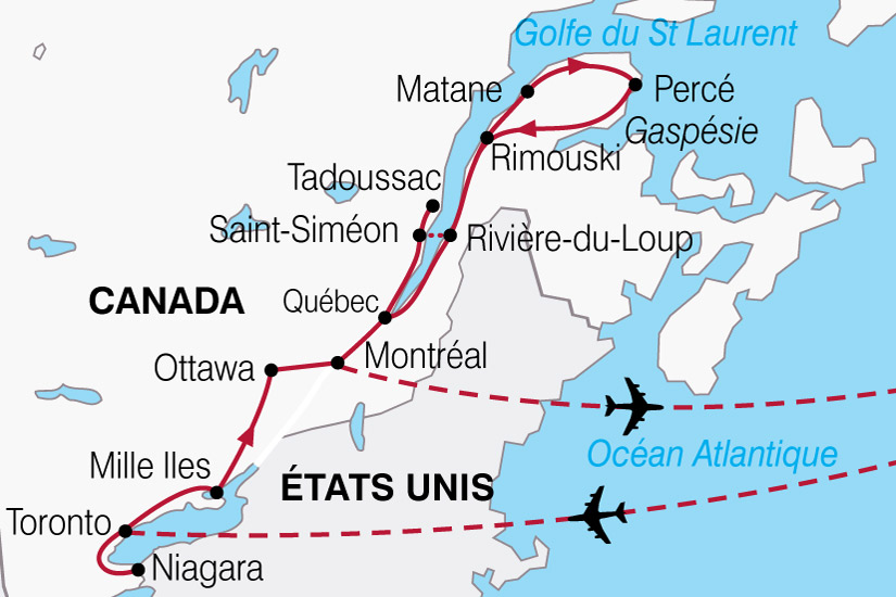 carte Canada Gaspesie Belles Provinces 359574