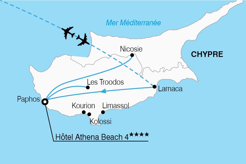 Chypre Carte Didentite Belge.Circuit A Chypre Mosaique Chypriote 8 Jours Bt Tours