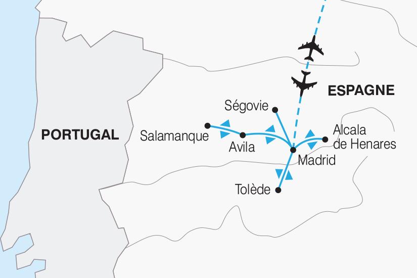 carte Espagne Des Chateaux en Espagne 2019_292 622157