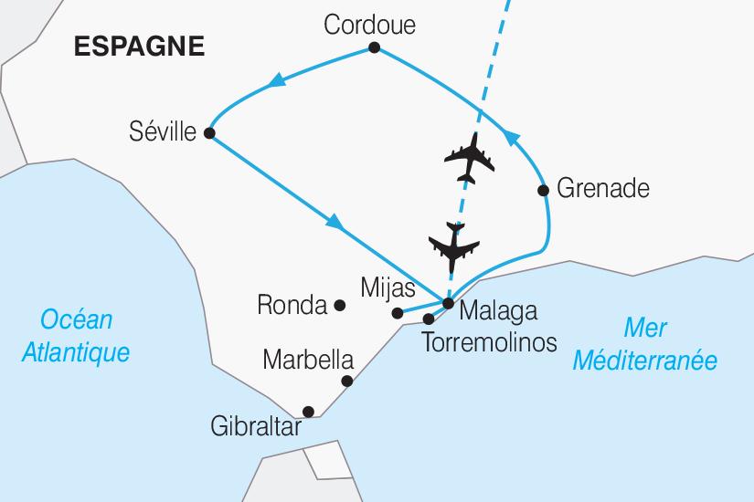 carte Espagne Les tresors d Andalousie 2019_292 419522