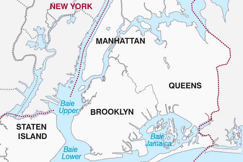 carte Etats Unis Escapade New Yorkaise SH19 20_319 229716