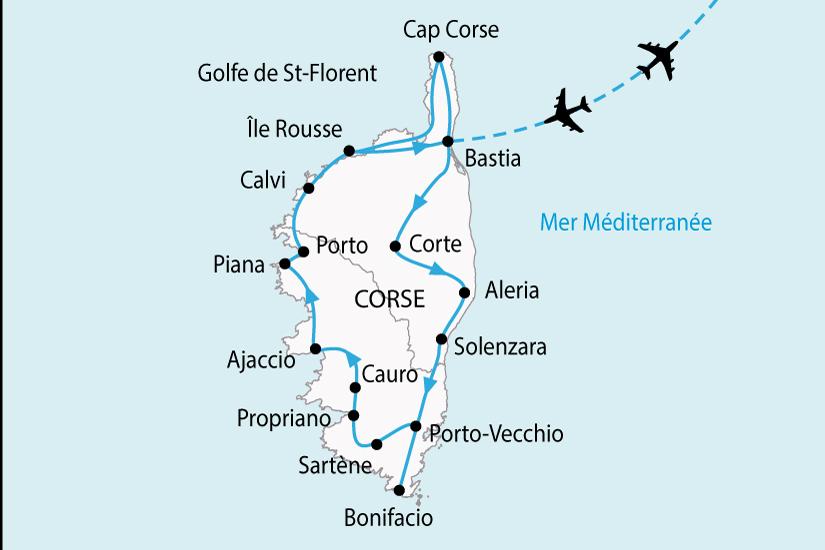 carte France CorseGrandTour 855088