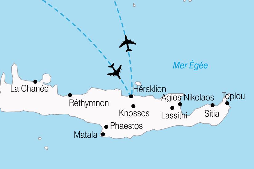 carte Grece Crete Autotour 634268