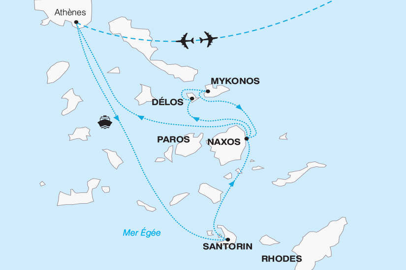 carte Grece Les Cyclades Magie des iles grecques 2018_267 845173