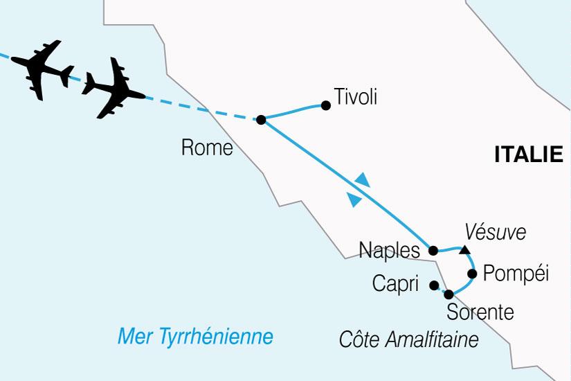 carte Italie Italie Sud 428206