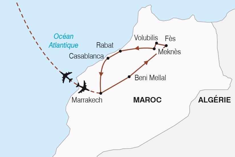 carte Maroc L Essentiel du Maroc SH20_339 757301