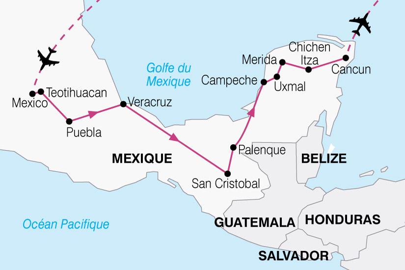 carte Mexique Essentiel 314737