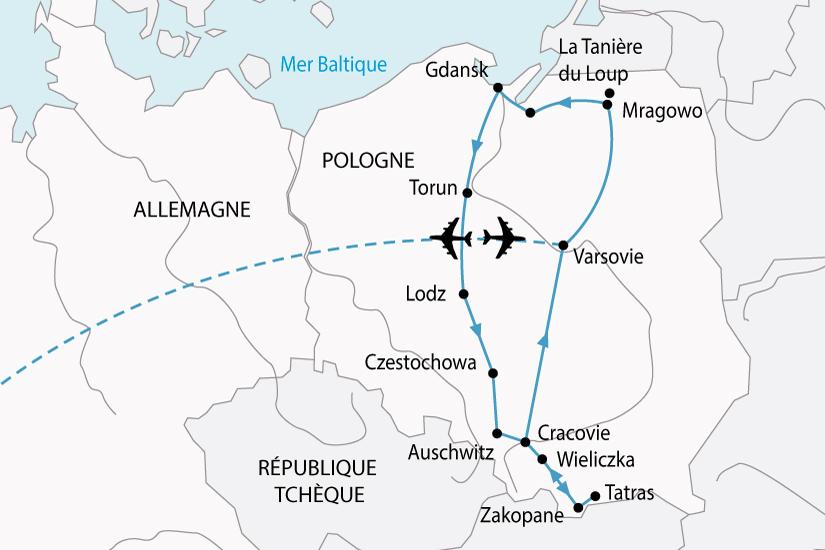 carte Pologne GrandTour 725945