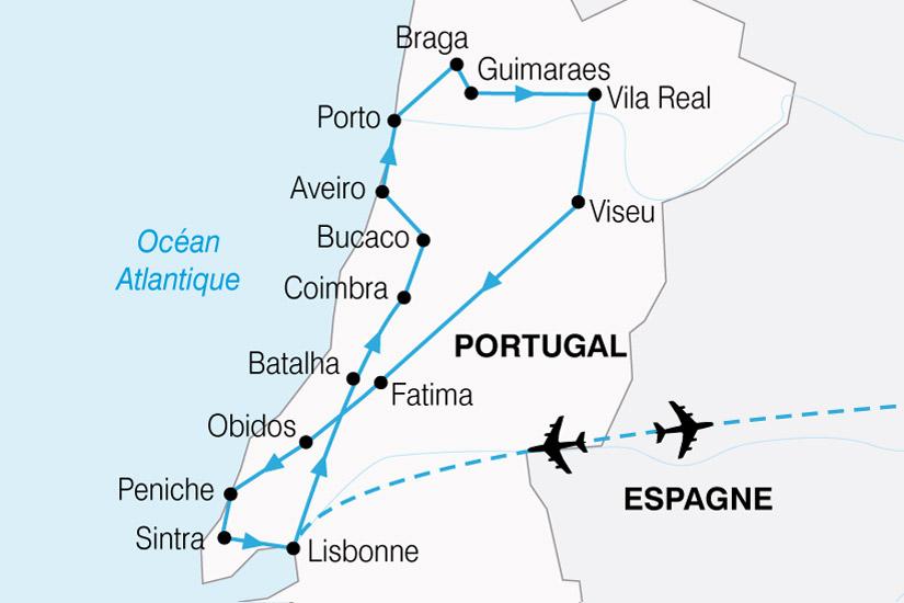 carte Portugal Tage Douro 853839
