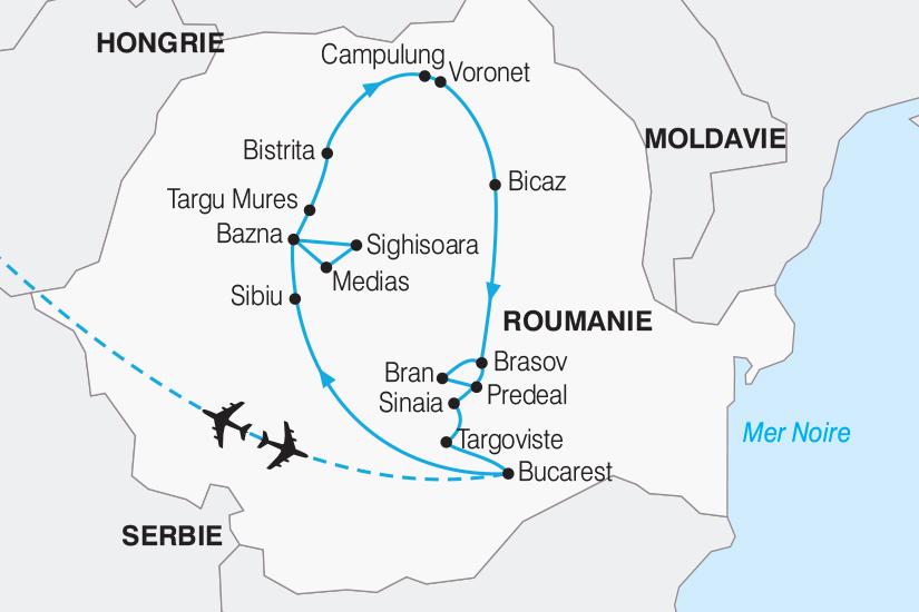 carte Roumanie Authentique Roumanie 267 527197