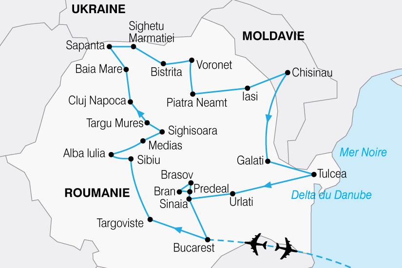 carte Roumanie Moldavie 528598