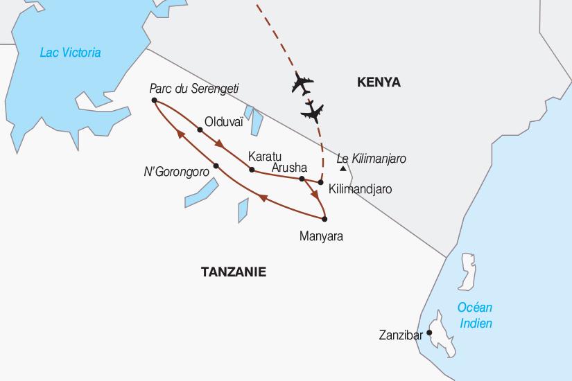 carte Tanzanie Tanzanie authentique 2019_292 757489