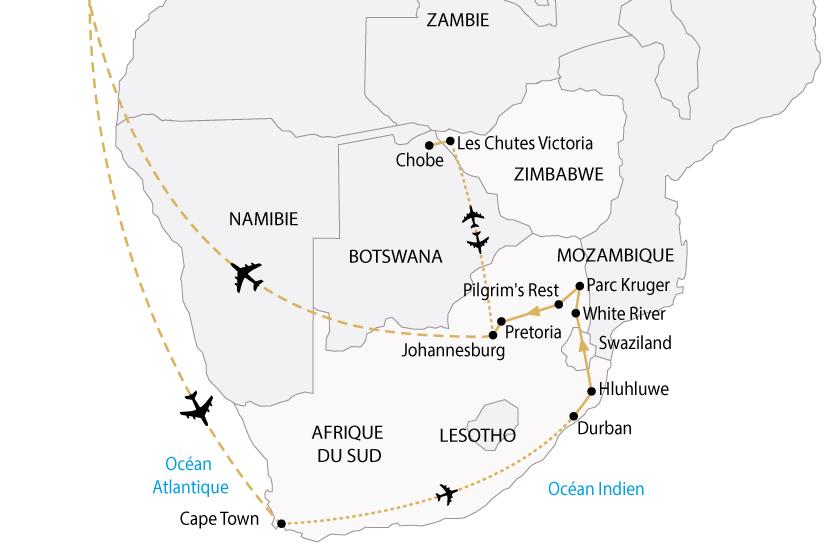 carte afrique australe cap bonne esperance victoria premium sh 2018_236 798351