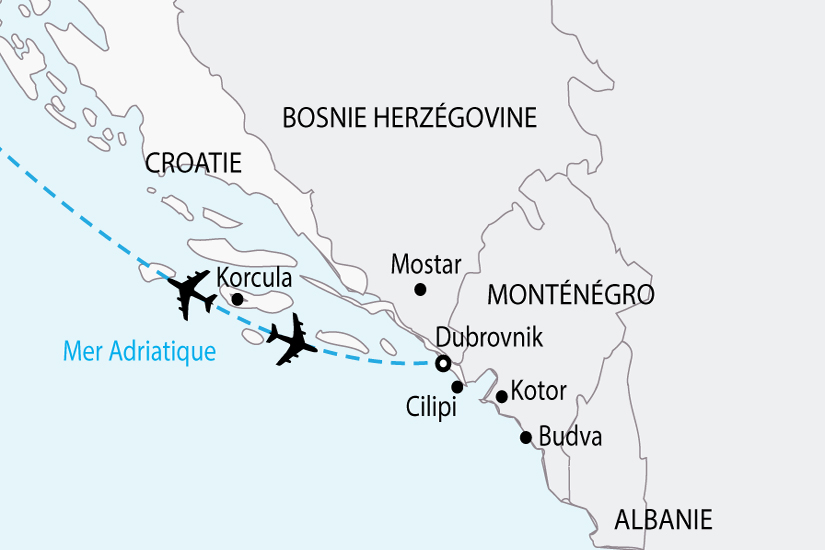 carte croatie sejour decouverte sh 2018_236 132087