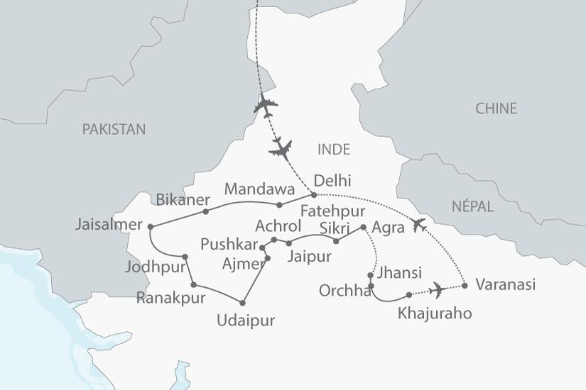 carte inde nord rajasthan gange nt 2018_238 259835