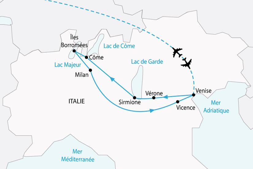 carte italie lac italien venise milan sh 2018_236 150661