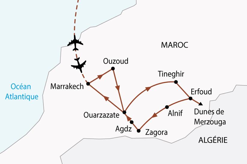 carte maroc desert oasis 4x4 sh 2018_236 445188