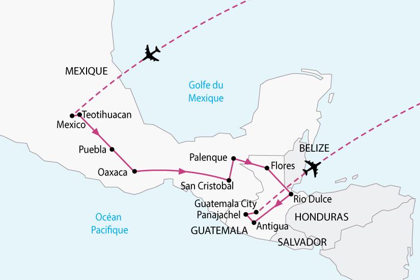 carte mexique guatemala tresors maya sh 2018_236 868405