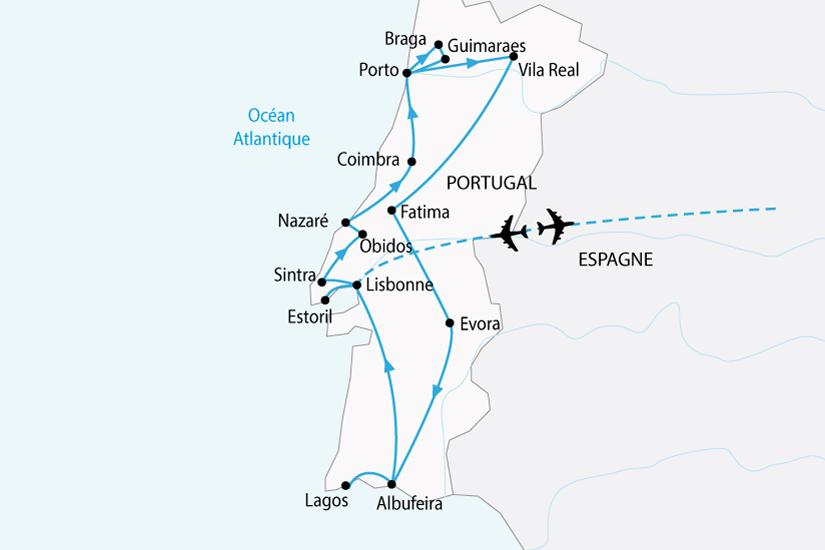 carte portugal nord sud sh 2018_236 432182