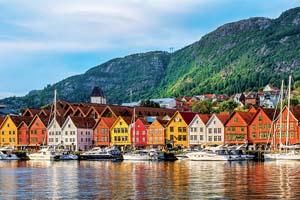 bergen norvege vue de batiments historiques a bryggen 79 as_190816719