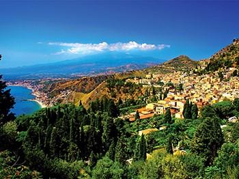 italie sicile taormine