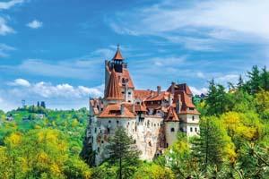 circuit roumanie transylvanie brasov vue panoramique chateau dracula bran automne 91 fo_120850805