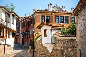 bulgarie plovdiv vieille ville  it